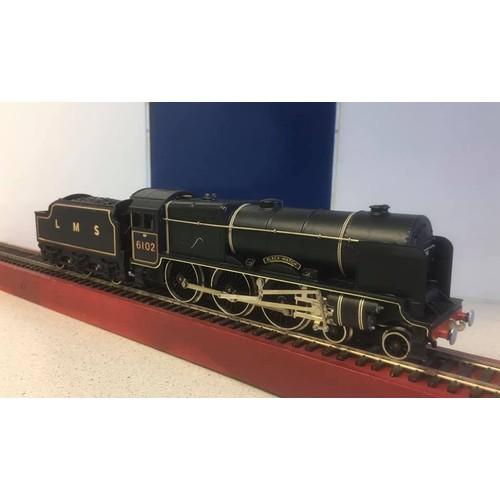 356 - WRENN W2261 LMS BLACK ROYAL SCOTT STEAM LOCO 6102 BOXED