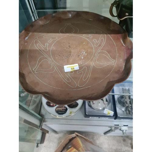 56 - Copper Tray...