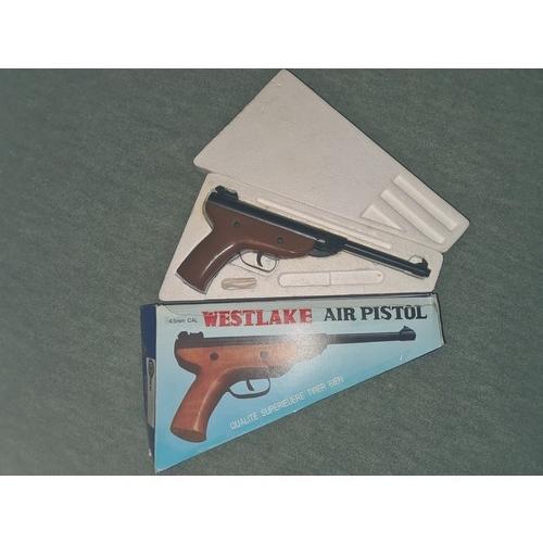 46 - Westlake .177 4.5mm cal break air pistol...