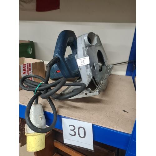 30 - Bosch 110v circular saw GWO...