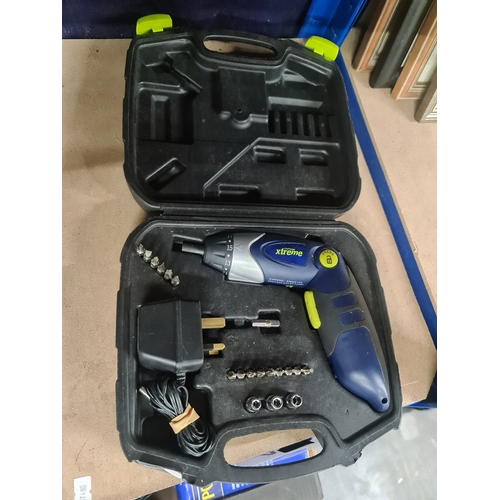43 - Challenge xtreme drill set and screw driver set...