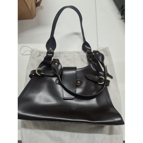 4 - Lancaster Paris designer hand bag with dust bag...