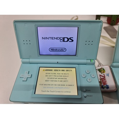 3 - Nintendo DS Lite with animal crossing...