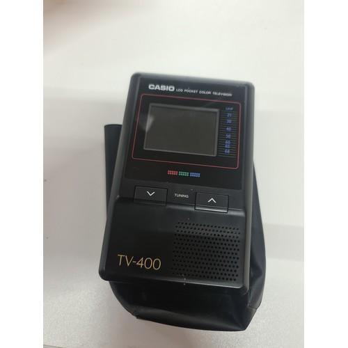 14 - Vintage Casio mini tv...