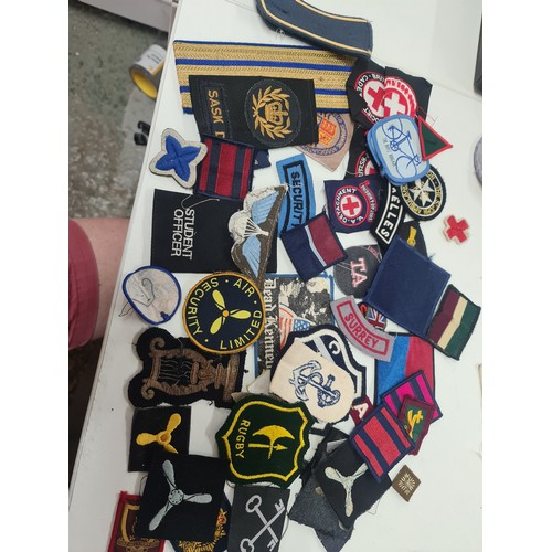 16 - Military Sew on Badges...