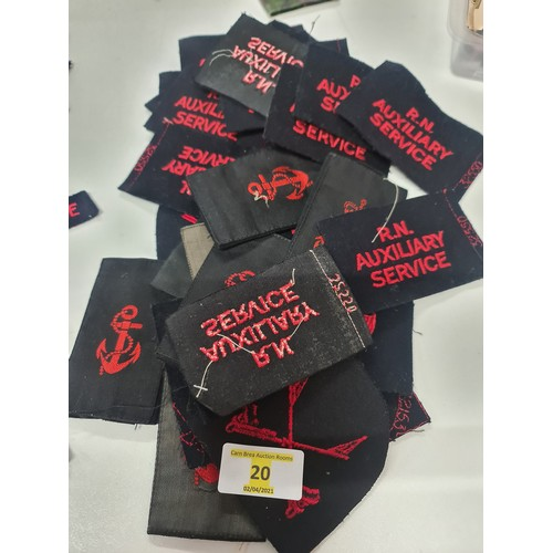 20 - Military Sew on Badges...