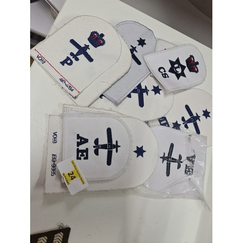 24 - Military Sew on Badges...