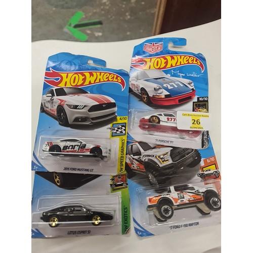 26 - Hot wheels...