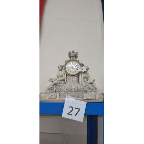 27 - Clock ornament gwo...