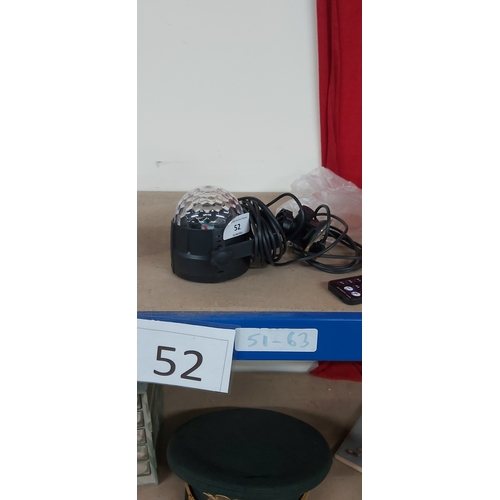52 - Computer disco light