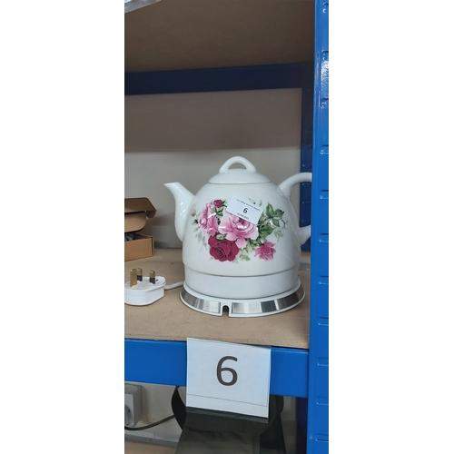6 - ELECTRIC Tea pot...