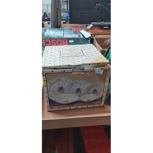 470 - new boxed china...