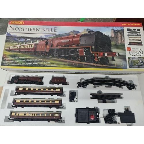 63 - Hornby R1065 Northern Belle Train set- OO Gauge (1:76 Scale) unused...