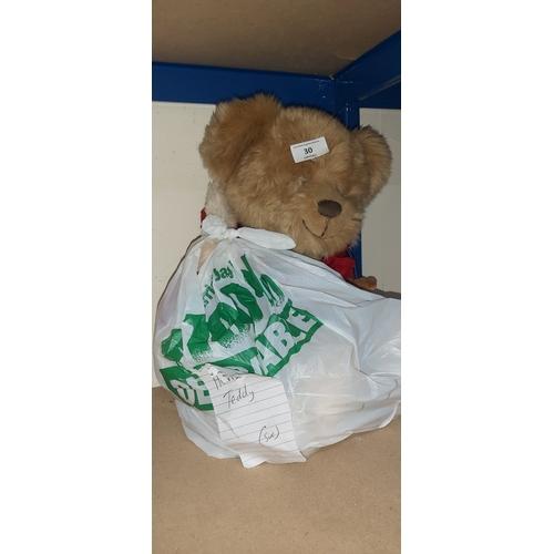 30 - harrods teddy
