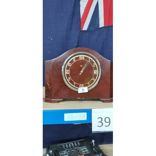 39 - Smiths Mantel Clock...