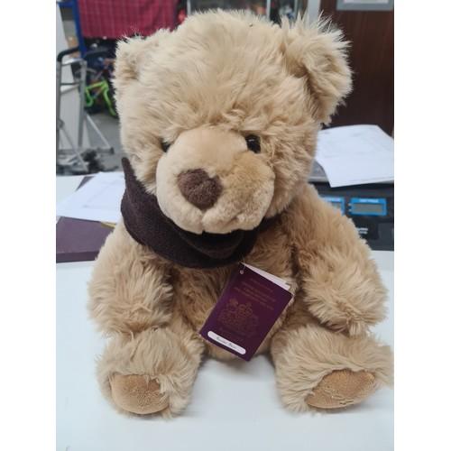 34 - 2013 Baxter bear with passport