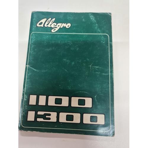 23A - Austin Allegro handbook 1973