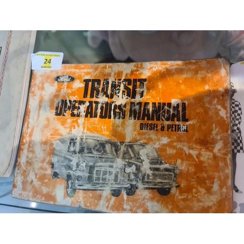 24 - Ford Transit Operators Manual 1971