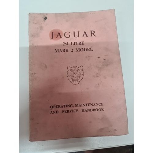 24A - Jaguar 2.4 litre Mark 2 Model Maintenance Handbook