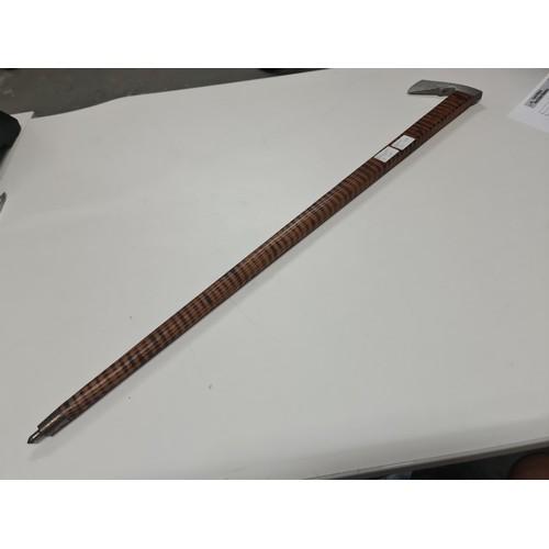 40A - Vintage Pit/walking Stick marketary shaft