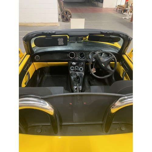 1 - Fiat Barchetta, 1999, 69000 miles, Gorse Yellow (Giallo Ginestra), on a UK plate but is being re-reg...