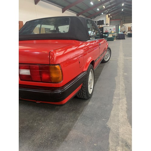 7 - BMW 318I, E30, CONVERTIBLE, 1992, Manual, 2 door. Fully restored and in excellent 'as original' cond...