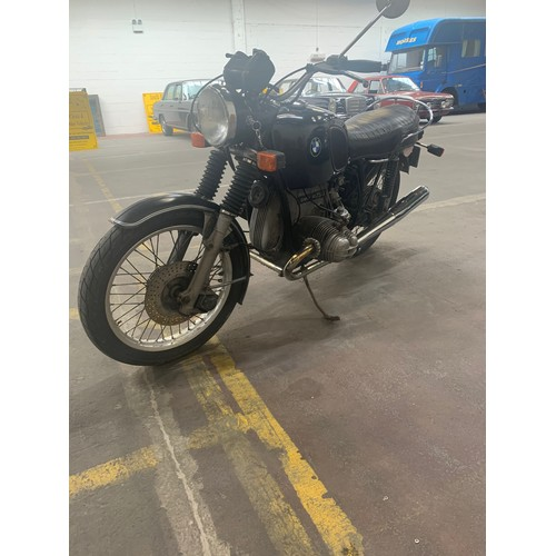 11 - 1976 BMW R75/6 62k miles. Has been in dry storage since 1998 and is running but could do with a reco...
