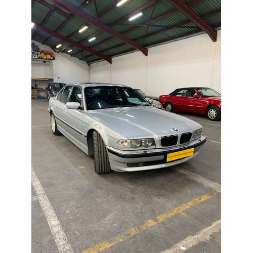 12 - BMW 735I, E38, 2001 (last year of production), Auto, 4 door saloon.  The E38 series was featured in ...