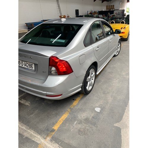 14 - Volvo S40, 2009, Silver with high specification including two-tone leather interior, alloys, AC etc....