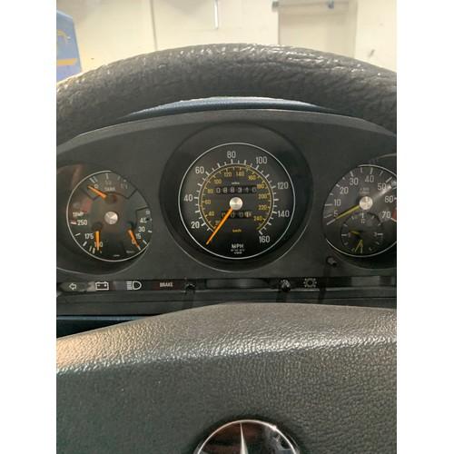 19 - MERCEDES 350 SL , 1977 (vintage), 88K miles (un-warranted), SILVER, SILVER HARDTOP AND NAVY SOFT TOP...