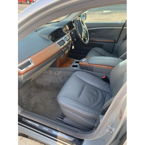 24 - BMW 740i, 2006, Silver with grey leather interior, 2 previous owners. NCT 10/20. Running and driving...