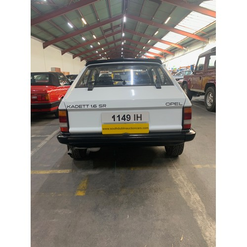 4 - Opel Kadett 1.6SR, 1982, 48k miles, 1 owner from new. Immaculate car in original as new condition. F...