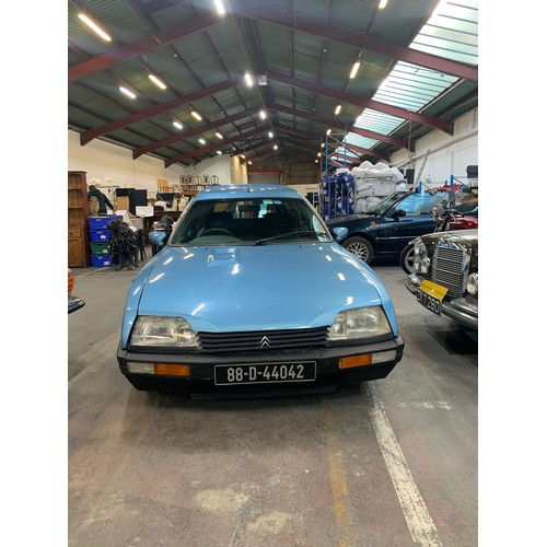 8 - Citroen CX Famililie, 1988, 2.5L, 82.5k miles, Auto, Sky blue, dark cloth, 7 Seater, Taxed to 12/21,...