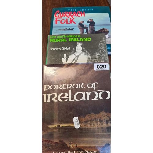 20 - Three good books of Irish Interest inc Curragh folk....