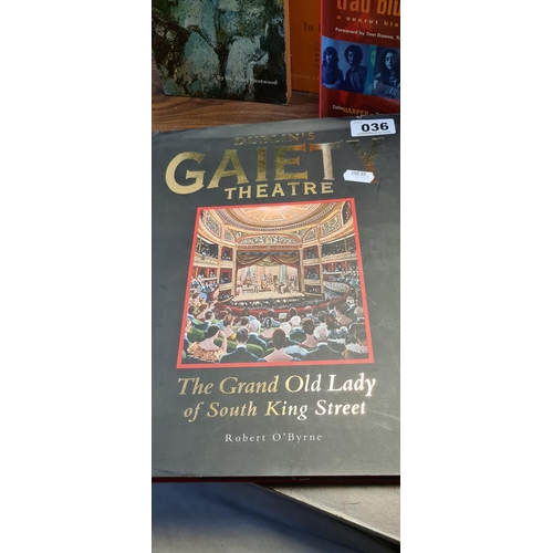 36 - Dublin Gaiety Theatre Large book....