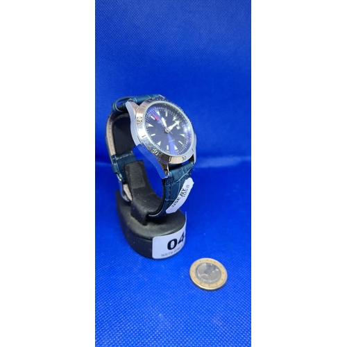 43 - Sekonda gents watch with blue strap....