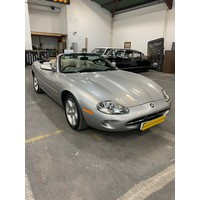 Jaguar XK8 4L, 112k, only 3 former owners, convertible in Meteorite Metallic and cream leather interior. This is a NI registered car that was in the process of being registered in the Republic and has a VRT number allocated (this means the new buyer can register under the old VRT system). If its a UK buyer no issues arise