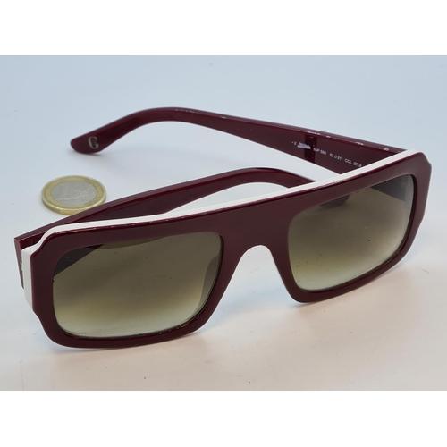 46 - Jean Pail Gautier orignal Sunglasses. Made in Italy. Very Retro Cool. Rare