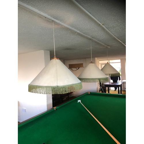 8 - Full size 12 X 6 Slate Snooker table By Abbey Billiards. Good order (just one small piece but wood f...