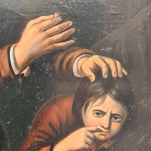 59 - Possibly after Adriaen von Ostade, (Haarlem, Netherlands, 1610-1685) 'A Dental Surgeon at Work' Oil ...