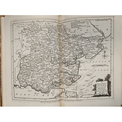 17 - Super rare 1773 Ellis's English Atlas of England And Wales. With 50 Maps All still in tact. Atlases ...
