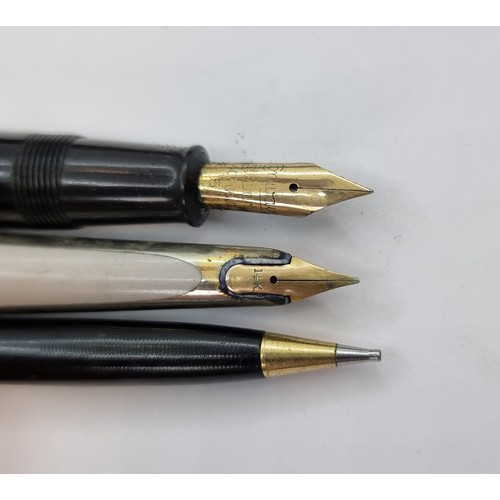 2 - A large quantity of fountain pens, ballpoint pens and propelling pencils, including Conway Stuart fo...