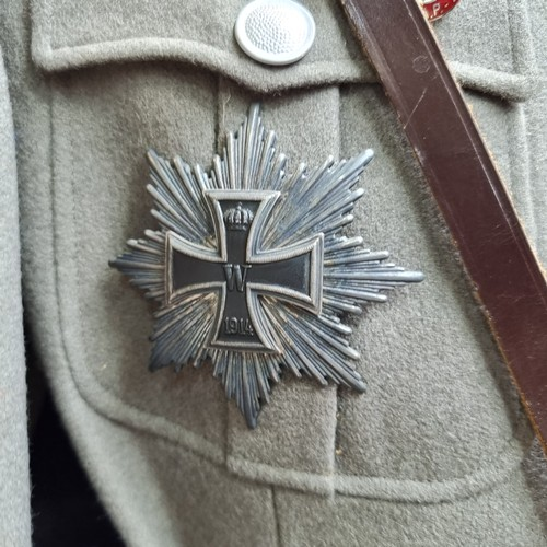 270 - Star Lot : From a military museum in the Uk that recently closed -  A 1933 Replica German Military U...
