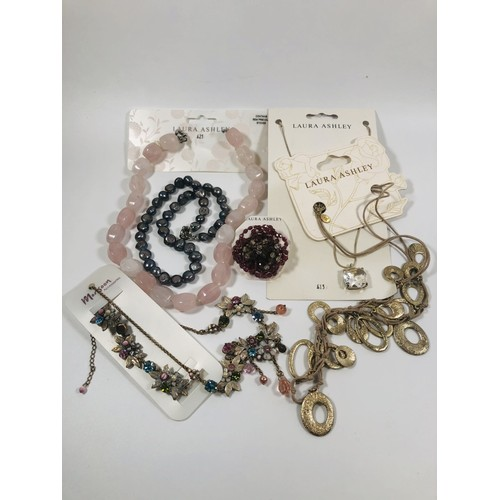 21 - Lot of new Laura Ashley and Monsoon jewellery. RRP over £100.