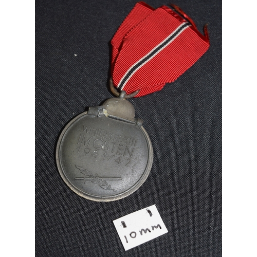 WW2 German Eastern Front Medal And Ribbon Eastern Front