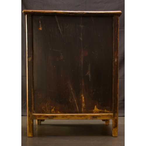 32 - CABINET - BOOK CASE - CHINA, SHANXI PROVINCE - NATURAL CYPRESS WOOD - 18TH CENTURY Awesome Cabinet i...