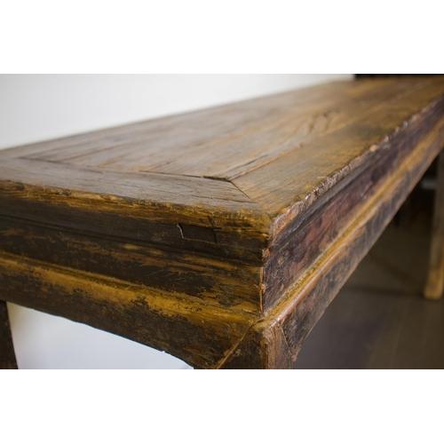 45 - ALTAR TABLE - CHINA, SHANXÌ PROVINCE - 17th-18th CENTURY Exceptional altar table - China, Shanxì Pro...