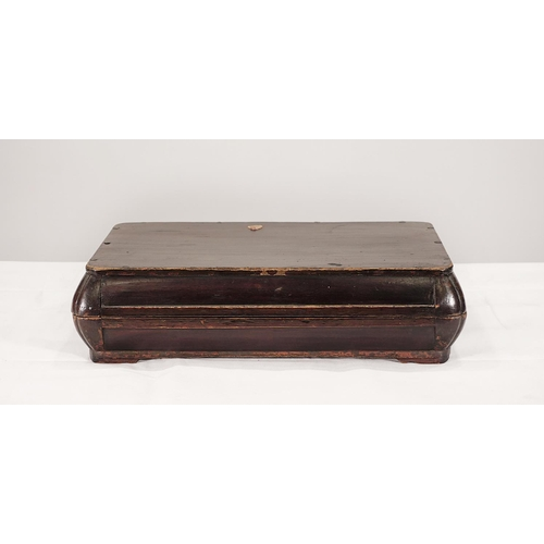 55 - CLOTHES CASE - CHINA, SHANXÌ PROVINCE - LATE 19th CENTURY Wooden clothes case, elm lacquered - China...