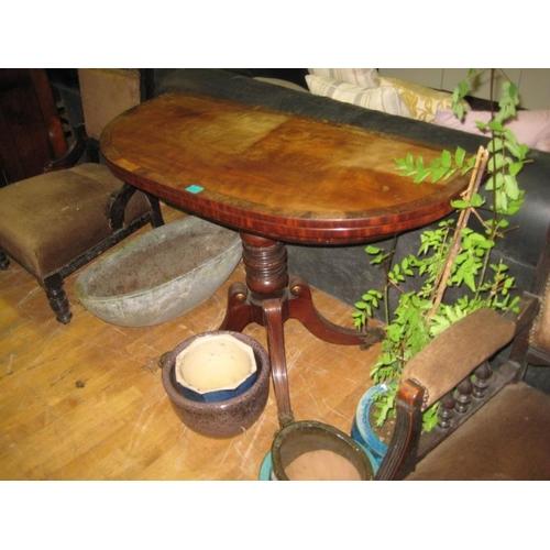55 - Early Victorian Mahogany Tea Table (for polishing)...