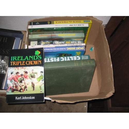 2 - Box of Irish Sporting Interest Cycling and Soccer...